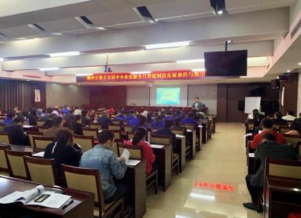柳州市第十五届中小企业服务月企业精益生产及降本增效培训班顺利举行