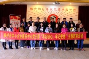 """柳州市中小企业服务中心党支部开展""""知青城现场教学""""主题党日活动"""