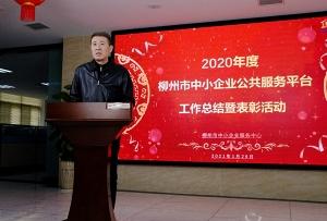 2020年度柳州市中小企业公共服务平台工作总结暨表彰在线直播活动圆满举行