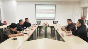 政校共谋产教融合、产学助推高质量发展——我中心到柳州工学院设计艺术学院开展调研交流